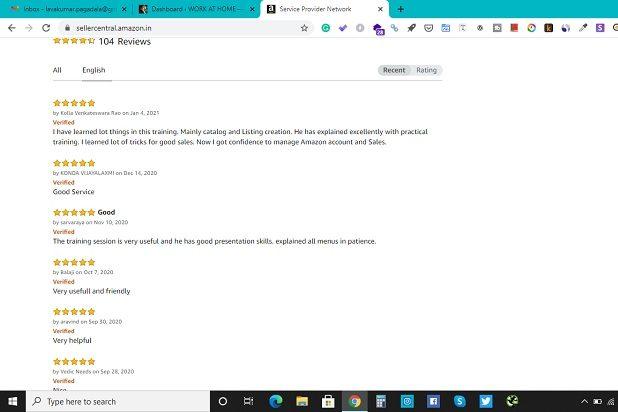 Amazon Training Reviews 2