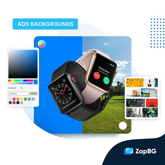 ZapBG Add backgrounds